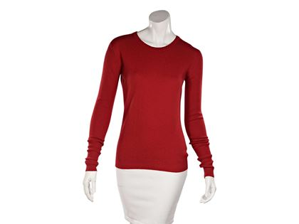 red-vintage-chanel-cashmere-sweater
