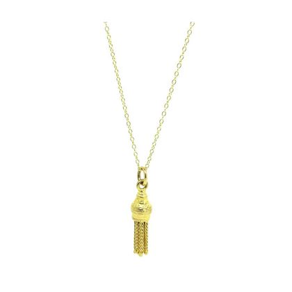 vintage-9ct-gold-tassel-charm-necklace