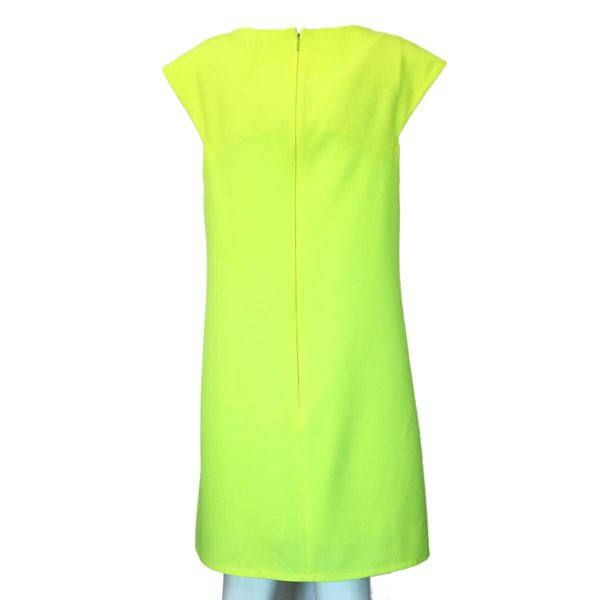 saint-laurent-neon-dress