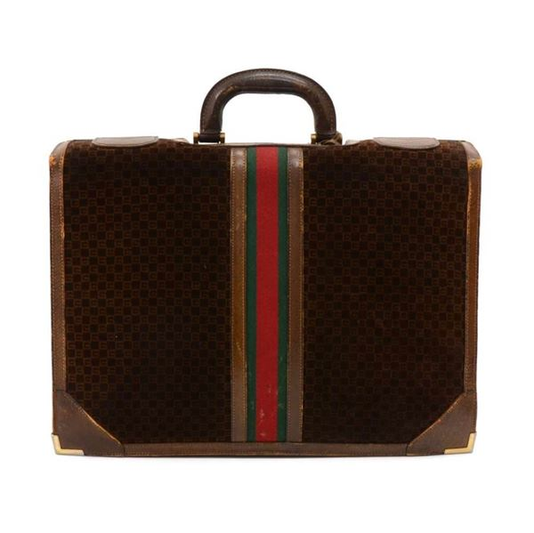 vintage-gucci-dark-brown-suede-leather-gg-logo-briefcase