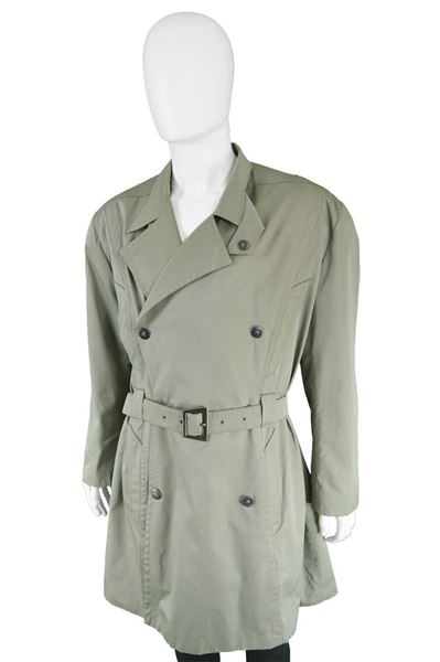 Thierry Mugler 1980s Double Breasted Trench Coat