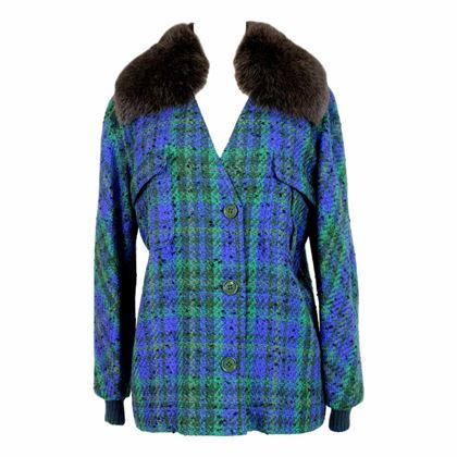 valentino-jacket-boucle-wool-faux-fur-neck-vintage-blue