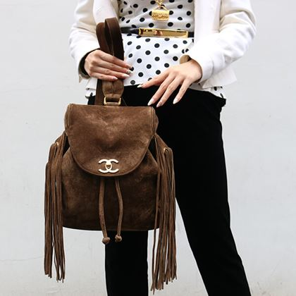 chanel-suede-fringe-turn-lock-backpack-with-pouch-brown