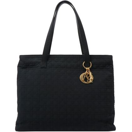 dior-nylon-lady-cannage-stitch-tote-bag-black