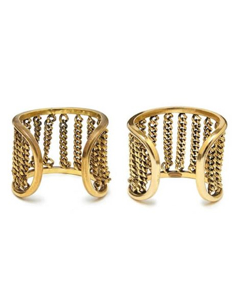 chanel-1970s-pair-of-gold-tone-cuff-bracelets-with-chain-link-detail