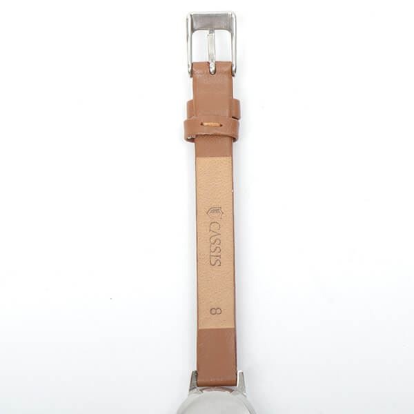 omega-cut-glass-de-ville-watch-brown