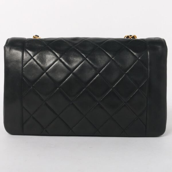 4b40cbf3de2b42 chanel-diana-flap-chain-bag-25cm-black-9