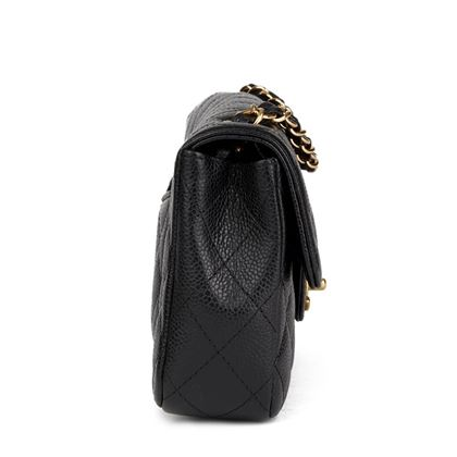black-quilted-caviar-leather-east-west-classic-single-flap-bag