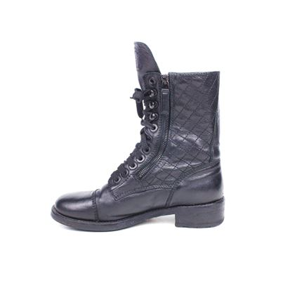 chanel-tall-combat-boots-black-moto-quilted-cc-logo-365-us-6-pre-owned-used