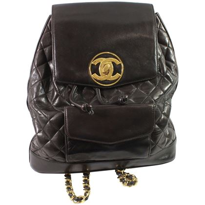 vintage-chanel-brown-backpack-with-golden-hardware-2