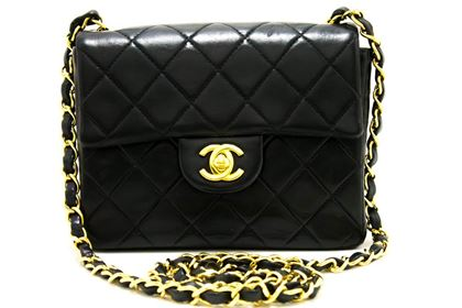 chanel-mini-square-small-chain-shoulder-crossbody-bag-black-flap