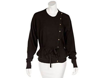 brown-vintage-chanel-cashmere-sweater