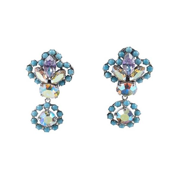 christian-dior-1958-turquoise-drop-earrings-with-iridescent-aurora-borealis