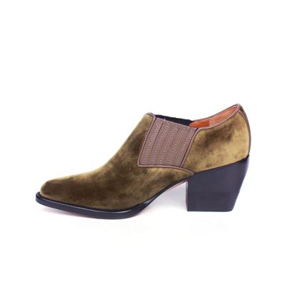chloe-velvet-ankle-booties-olive-pointed-toe-boots-shoes-365-us-65-new