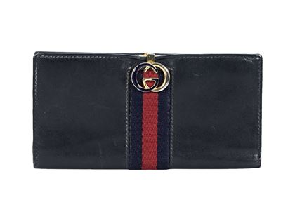 navy-blue-vintage-gucci-leather-wallet