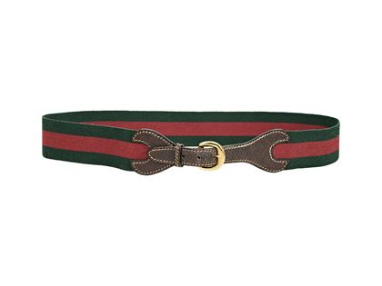 red-green-vintage-gucci-striped-canvas-belt