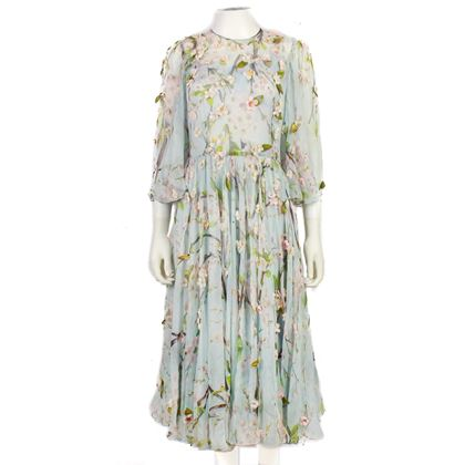 dolce-gabanna-gown-baby-blue-silk-cherry-blossom-embroidered-40-us-2-pre-owned-used