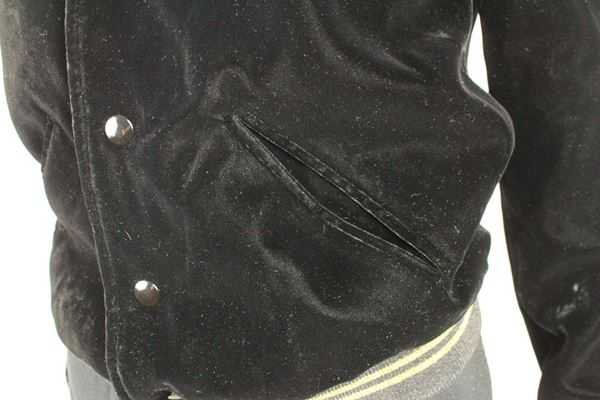 saint-laurent-bomber-jacket-black-velvet-34-us-2-pre-owned-used