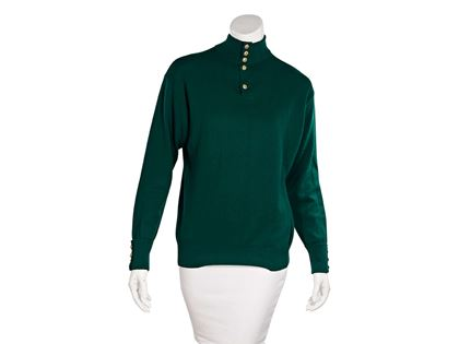 green-vintage-chanel-cashmere-sweater