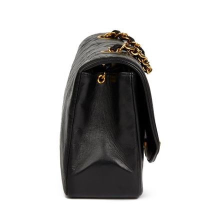 black-quilted-lambskin-vintage-small-diana-classic-single-flap-2