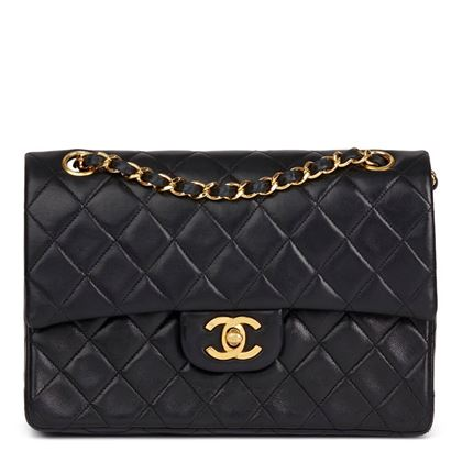 black-quilted-lambskin-vintage-small-classic-double-flap-bag-42