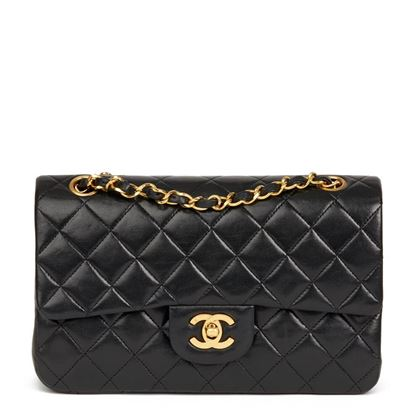 black-quilted-lambskin-vintage-small-classic-double-flap-bag-43