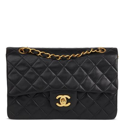 black-quilted-lambskin-vintage-small-classic-double-flap-bag-46