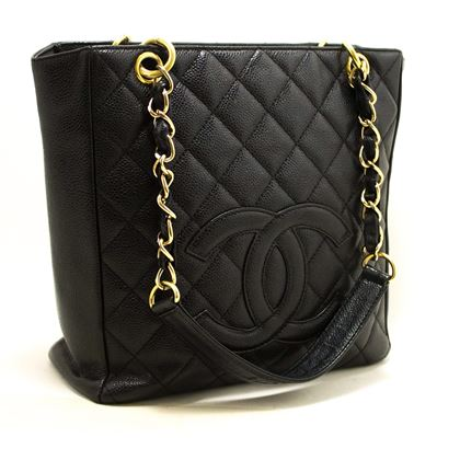 chanel-caviar-pst-chain-shoulder-shopping-tote-bag-black-quilted-2