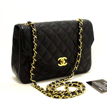 chanel-half-moon-chain-shoulder-crossbody-bag-black-flap-quilted-2