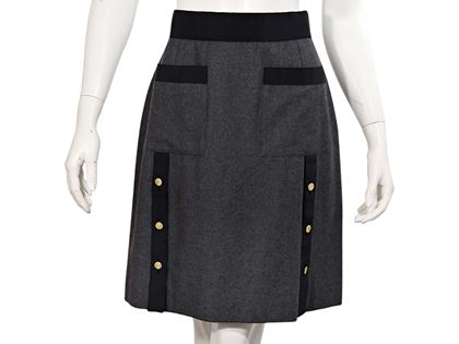 grey-vintage-chanel-woolcashmere-skirt
