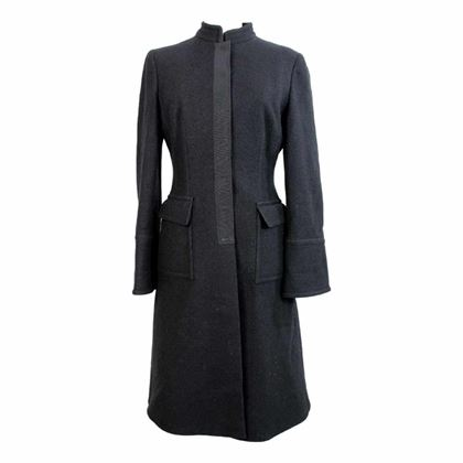 alberta-ferretti-long-coat-wool-vintage-black