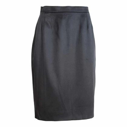 yves-saint-laurent-rive-gauce-pencil-skirt-silk-wool-vintage-black