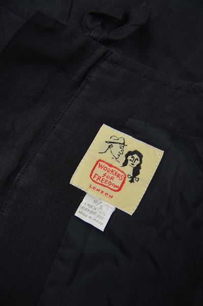 Workers for Freedom 1990s Mens Linen Jacket