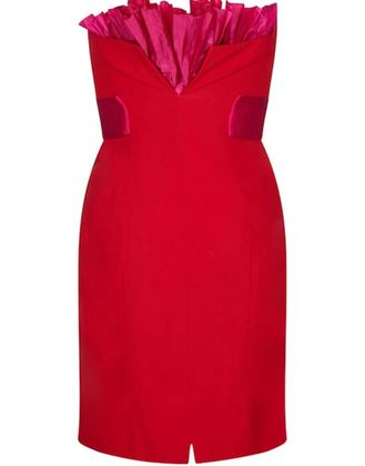 gianfranco-ferre-1980s-crimson-cocktail-dress-with-shocking-pink-fan-detail-uk-size-6-8
