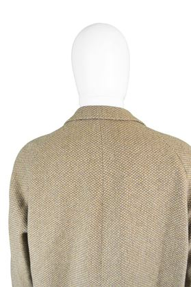 Aquascutum 1960s Men's Wool Vintage Overcoat
