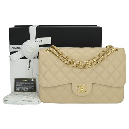 chanel-double-flap-jumbo-beige-clair-caviar-gold-hardware-2015