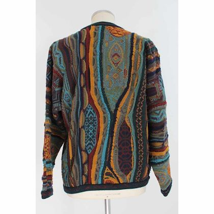 coogi-australia-sweater-animalier-wool-vintage-multicolor