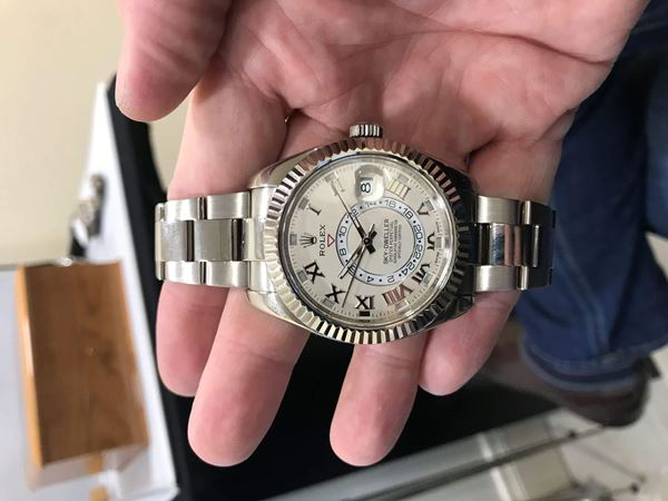 Rolex Skydweller in White Gold