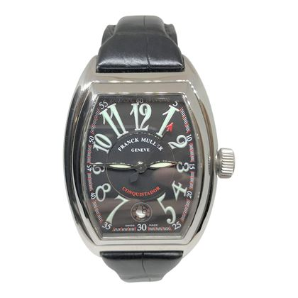 Franck Muller Conquistador Stainless Steel Mens Watch