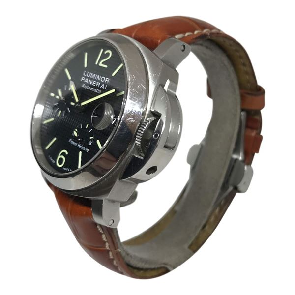 Panerai Luminor Automatic Stainless Steel Mens Watch