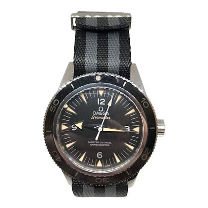 Omega Seamaster Liquid Metal Mens Watch. As seen in James Bond