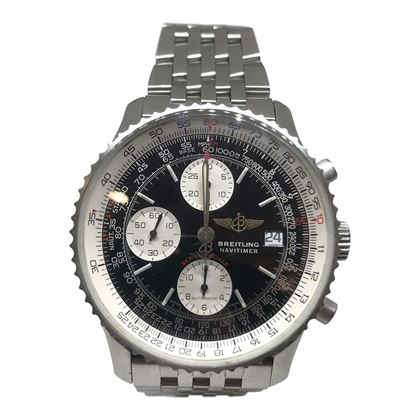Breitling Navitimer Black Mens Watch