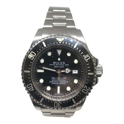 Rolex Deep Sea Dweller Stainless Steel Mens Watch