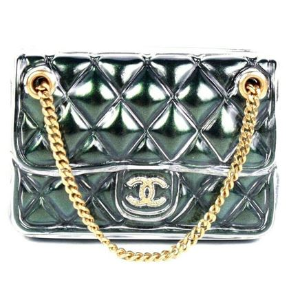 chanel-2018-bag-brooch-pin-cc-green-quilted-purse-with-gold-chain-new
