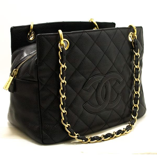 992283e1ffe0 Chanel Caviar Quilted Flap Tote Black - Best Quilt Grafimage.co