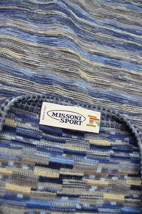 Missoni 1990s Vintage Mens Sleeveless Sweater Vest
