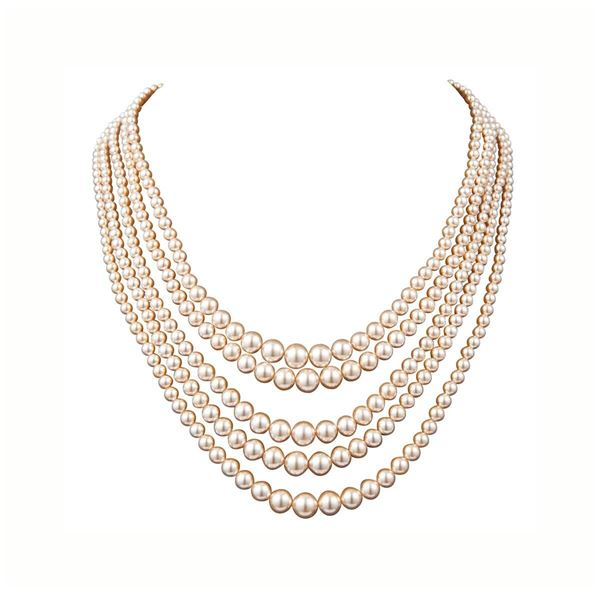 1980s-vintage-faux-pearl-collar-necklace