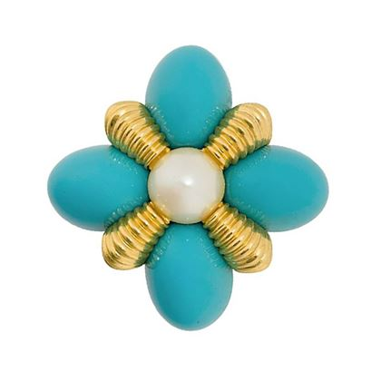 1980s-vintage-joan-rivers-faux-turquoise-brooch