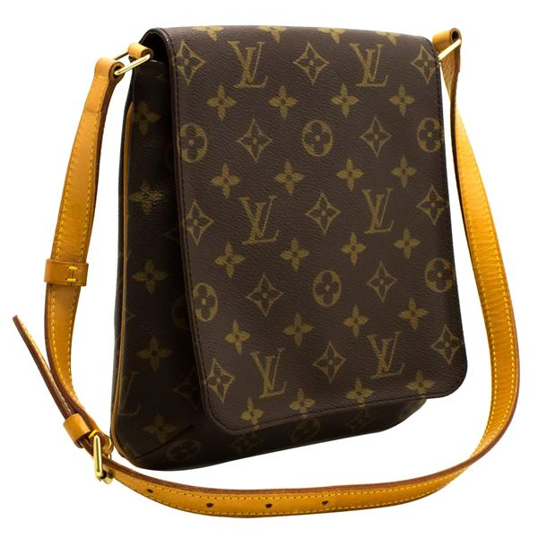 bb819a146dbf2 Louis Vuitton Monogram Musette Salsa Short Strap Shoulder Bag