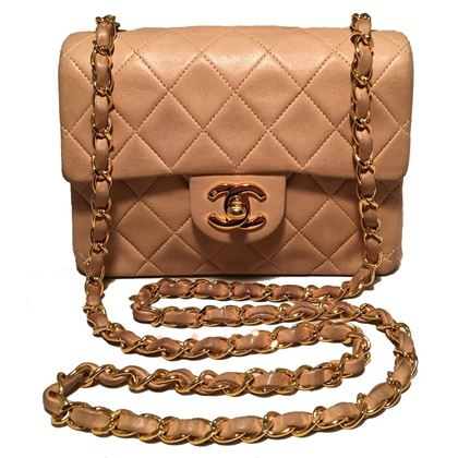 chanel-nude-quilted-tan-leather-mini-classic-flap-shoulder-bag